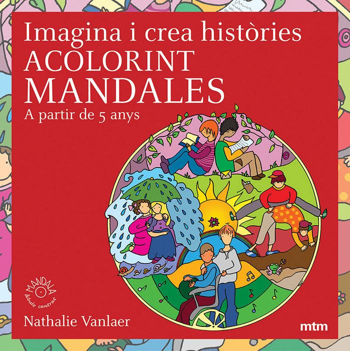Imagina i crea histories acolorint mandales