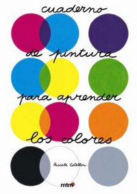 Cuaderno de pintura para aprender los colores