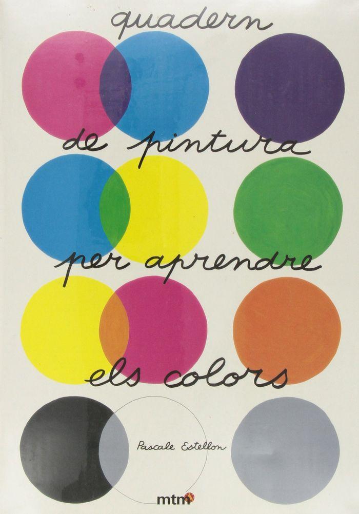 Quadern de pintura per aprendre els colors