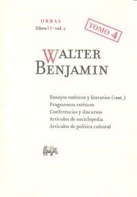 Walter benjamin o.c libro ii/vol.2 tomo 4