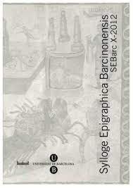 Sylloge epigraphica barcinonensis x