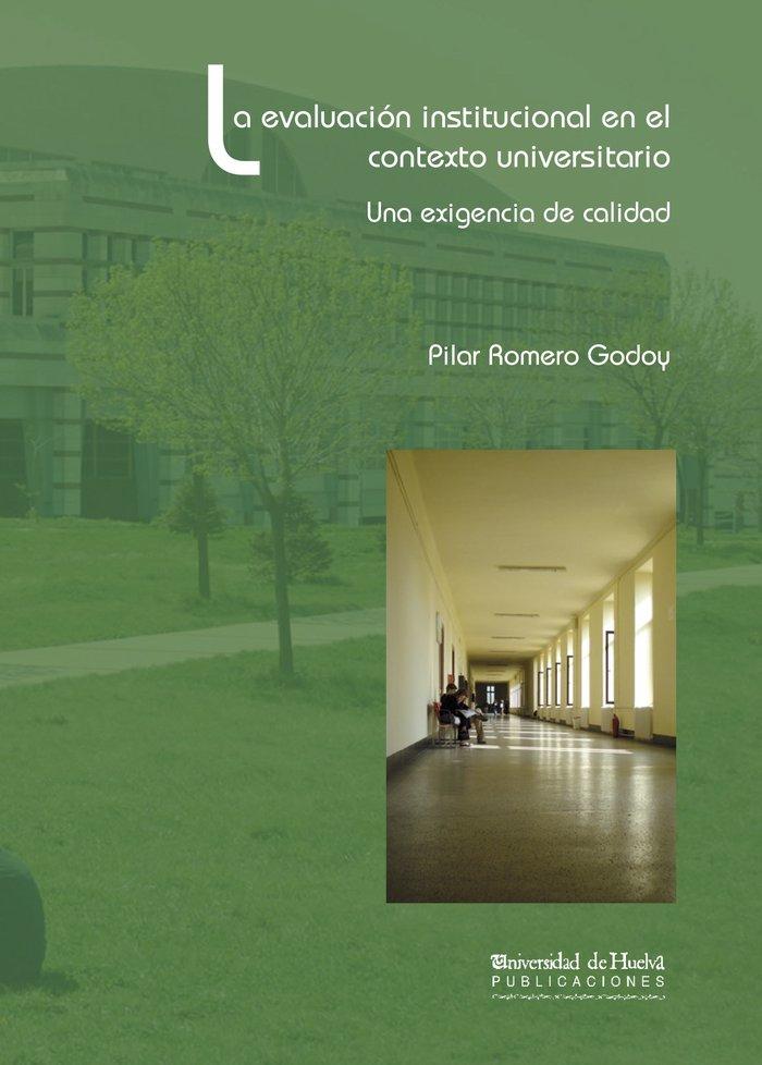 Evaluacion institucional en el contexto universitario,la