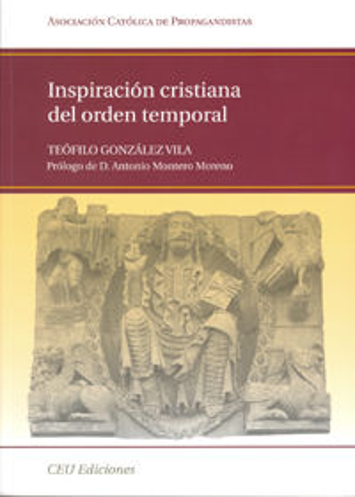 Inspiracion cristiana del orden temporal