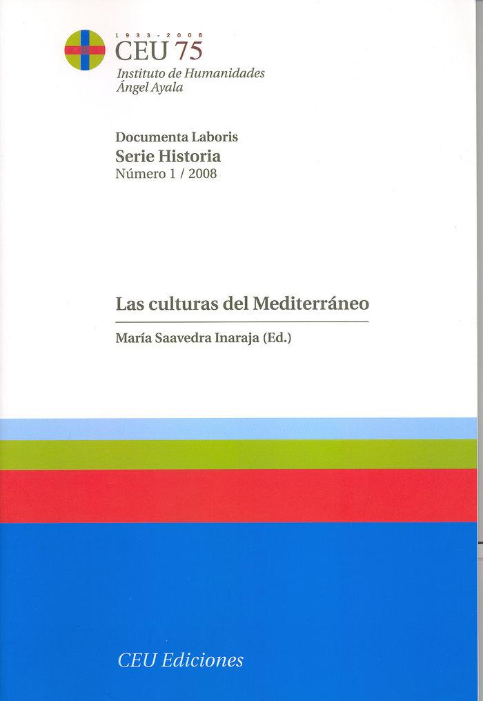 Culturas del mediterraneo,las