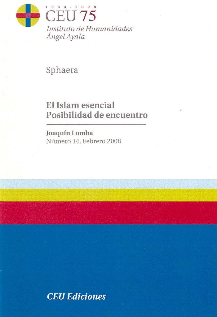 Islam esencial posibilidad de encuentro,el