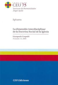 Dimension interdisciplinar de la doctrina social de la igles