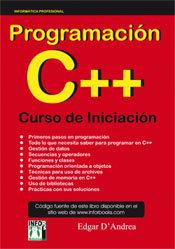 Programacion c++ curso de iniciacion