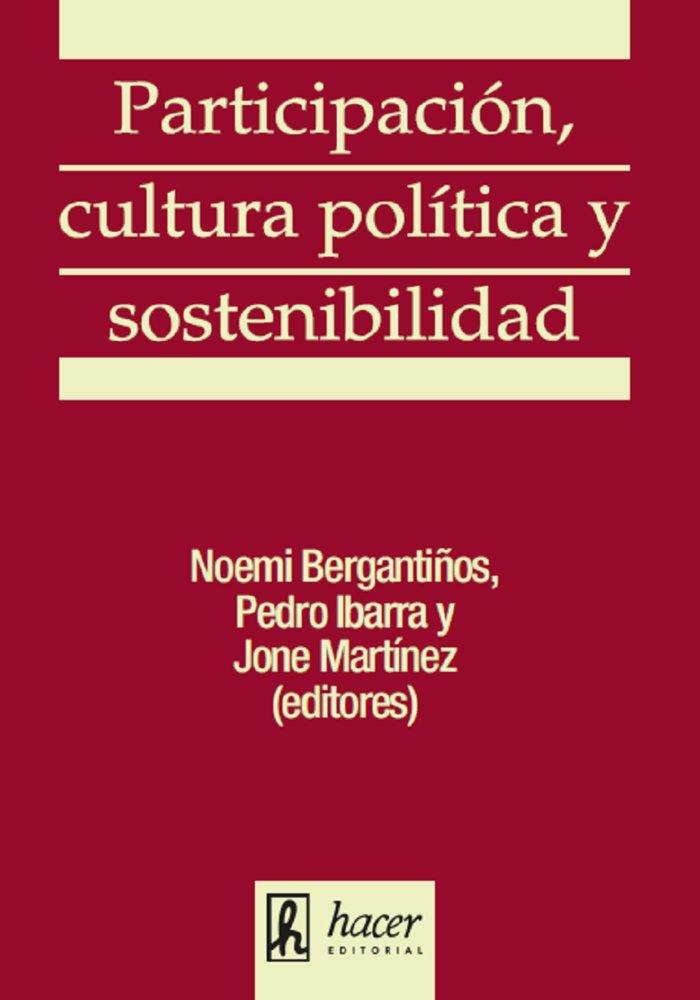 Participacion cultura politica y sostenibilidad