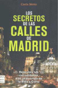 Secretos de las calles de madrid,los
