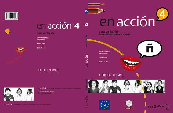 En accion 4 alumno +cd audio mp3