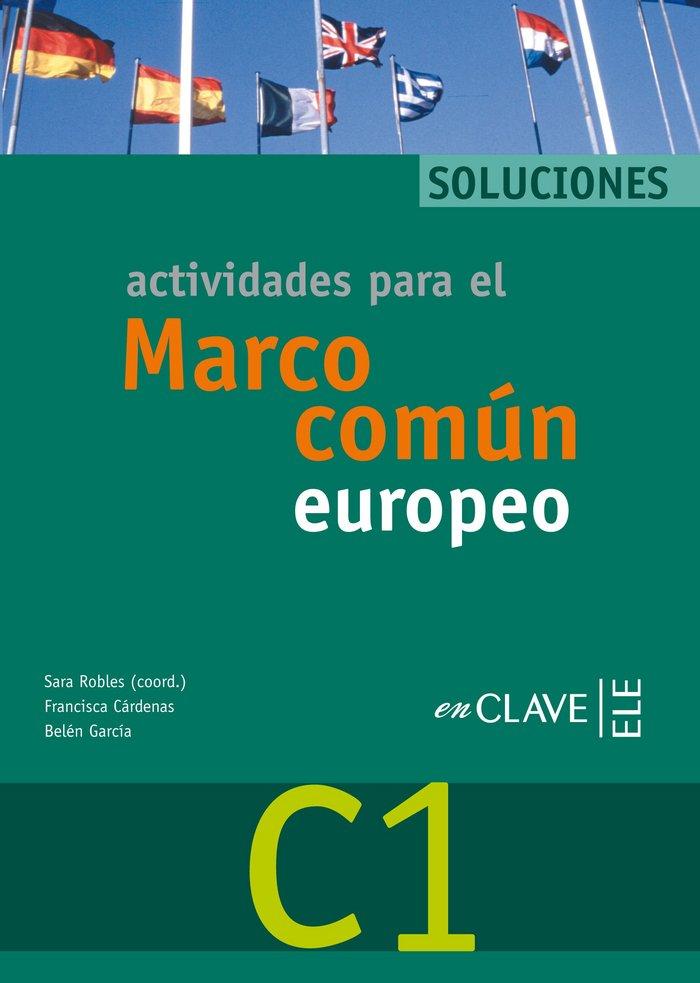 Actividades para el marco comun europeo c1 - soluciones