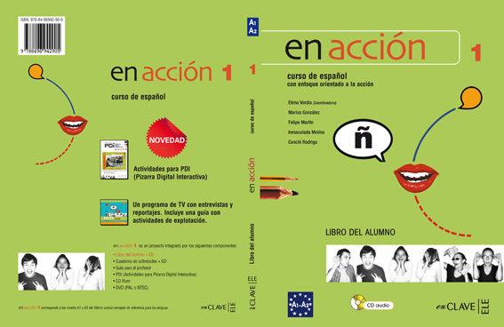 En accion 1 libro del alumno y cd audio
