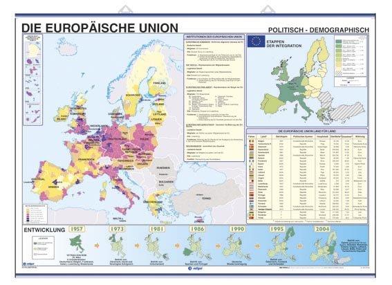 Die europsische union wirtschaftlich / politisch - demograph