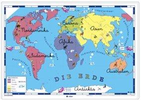 Weltkarte fyr kinder