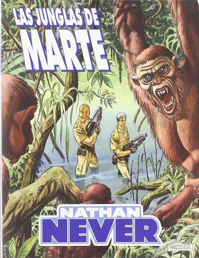 Nathan never, las junglas de marte