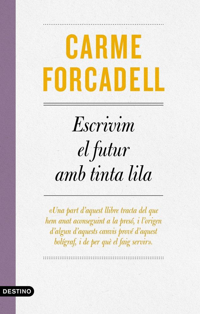 Escrivim el futur amb tinta lila catalan