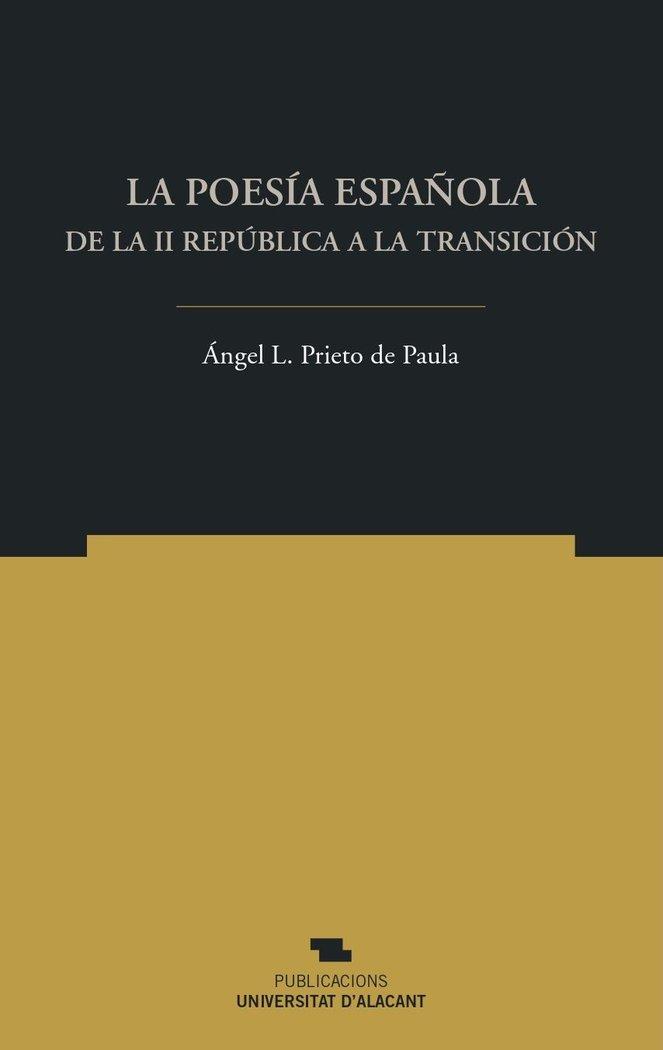 La poesia española de la ii republica a la