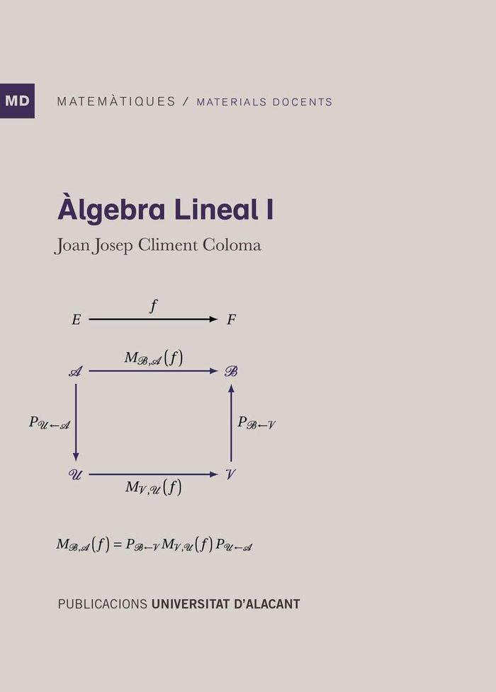 Algebra lineal i