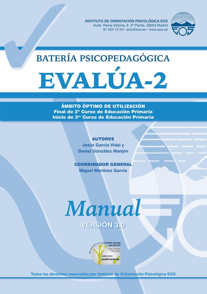 Manual evalua 2. version 3.0