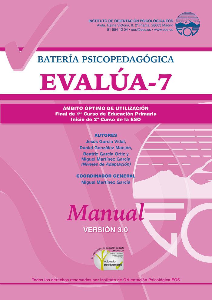 Manual evalua 7 version 3 0