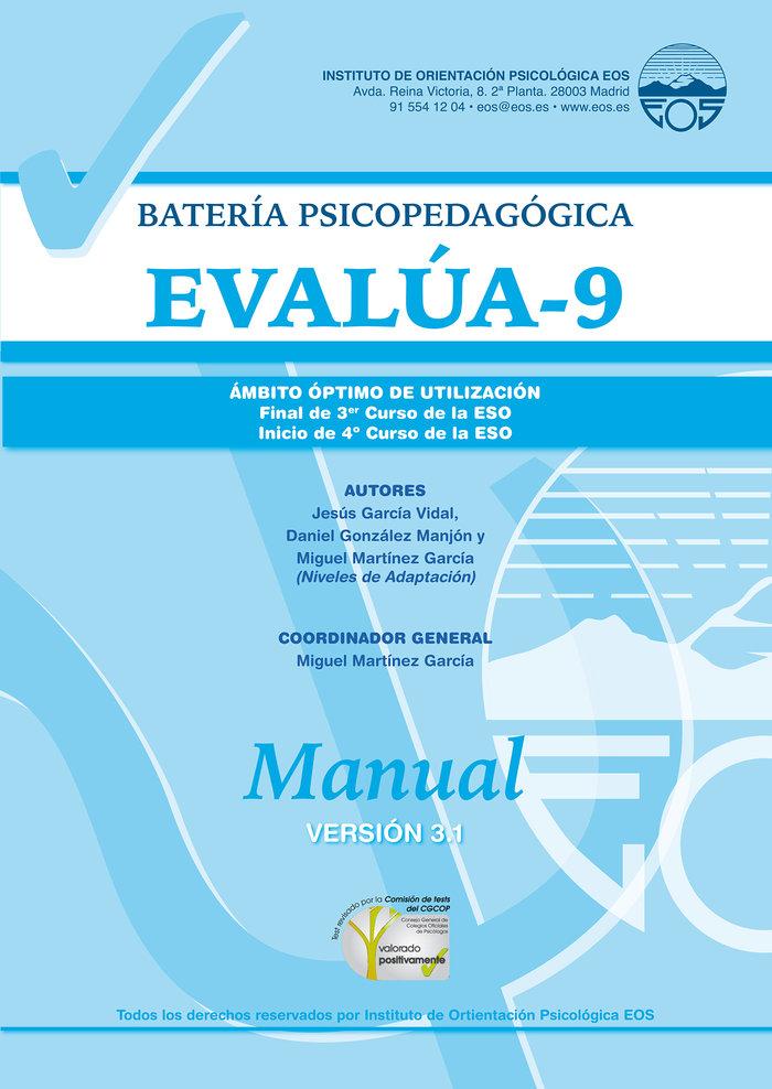 Manual evalua 9 version 3 0