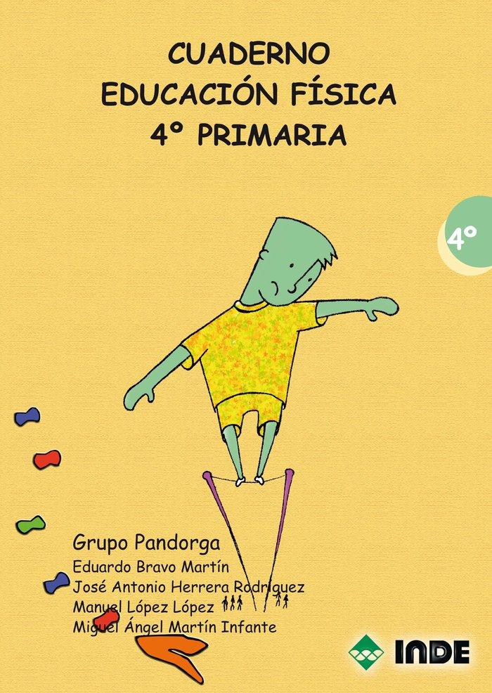 Educacion fisica 4ºep progra.anual cuaderno