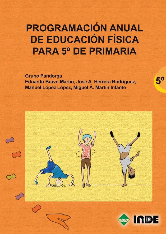 Programacion anual ed.fisica 5ºep 2ªed