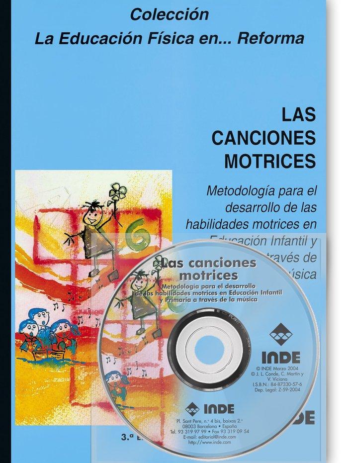 Canciones motrices i+cd 4ªed
