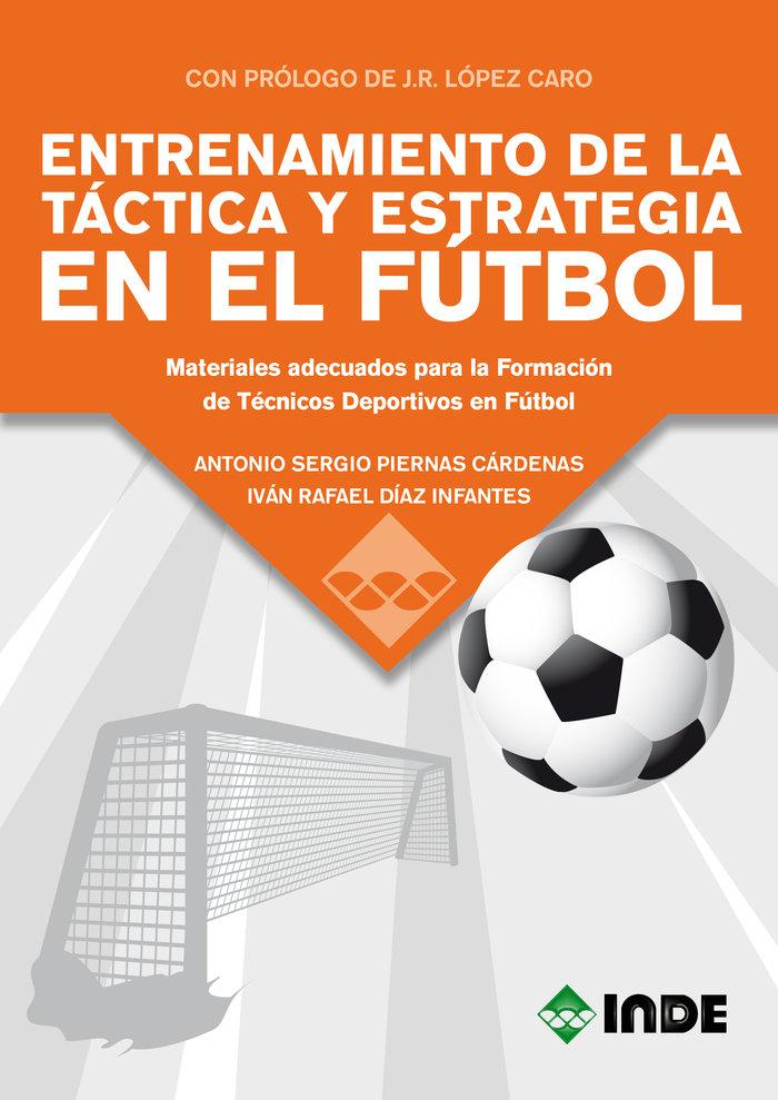 Entrenamiento de la tactica y estrategia en el futbol