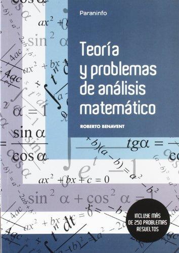 Teoria y analisis de los problemas matematicos