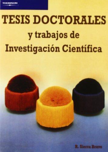 Tesis doctorales y trabajos investigacion cientifica ne
