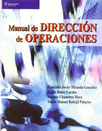 Manual de direccion de operaciones