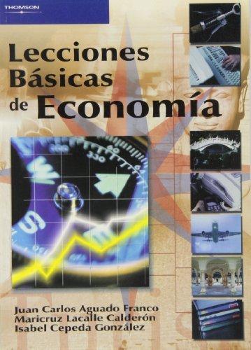 Lecciones basicas de economia