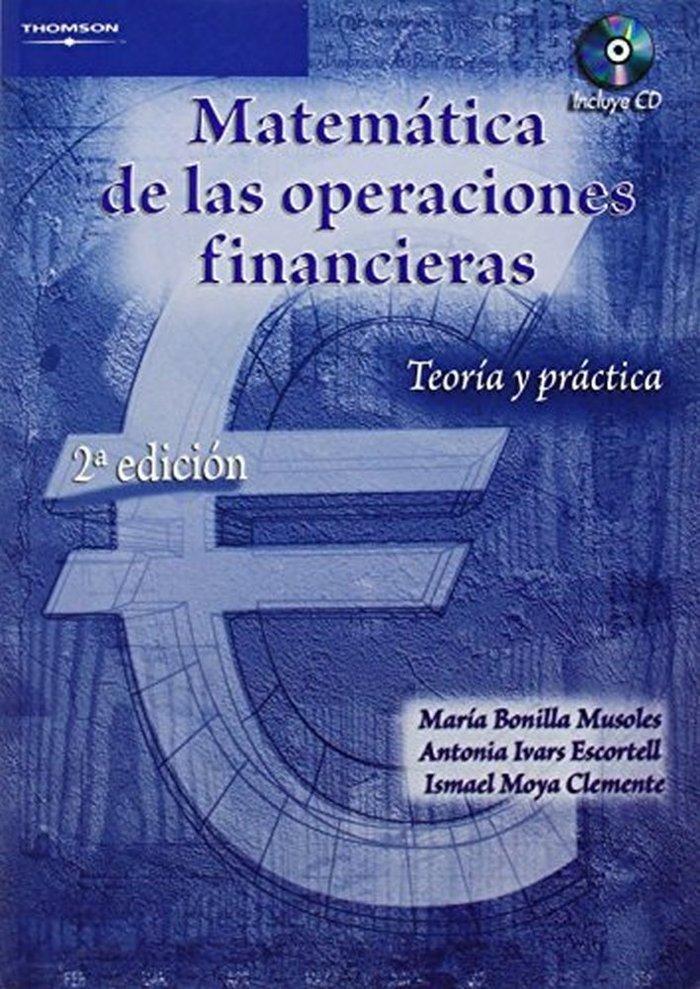 Matematica de las operaciones financieras+cd