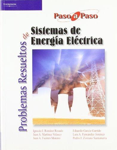 Problemas resueltos sistemas energia electrica paso a paso