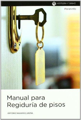 Manual para regiduria de pisos