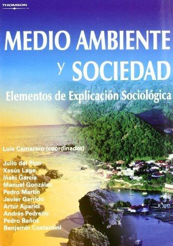 Medio ambiente y sociedad elementos explicacion sociologica