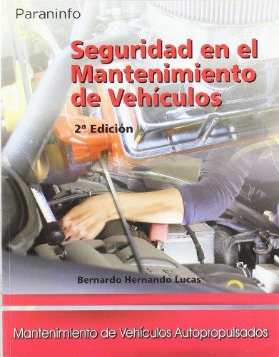 Seguridad mantenimiento vehiculos gm 07 cf 2ªed