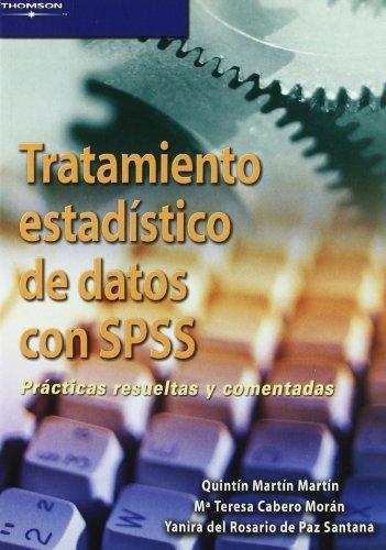 Tratamiento estadistico de datos con sps