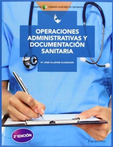 Operaciones adm.y documentacion sanitaria 2ªed