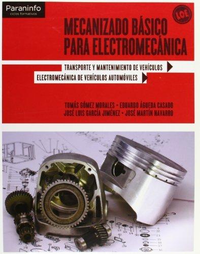 Mecanizado basico para electromecanica cf gm 11