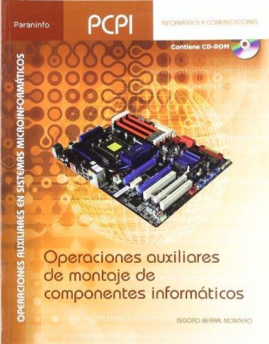 Operaciones auxiliares montaje de componentes informaticos