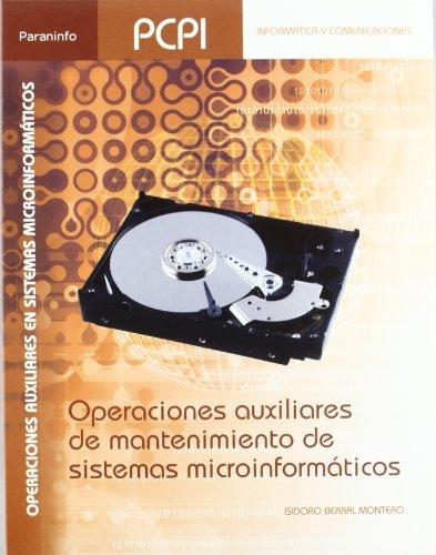 Operaciones auxiliares mantenim stmas microinformaticos