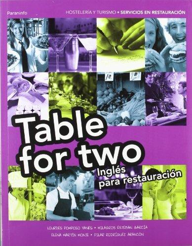 Table for two ingles para restauracion gm 11 cf