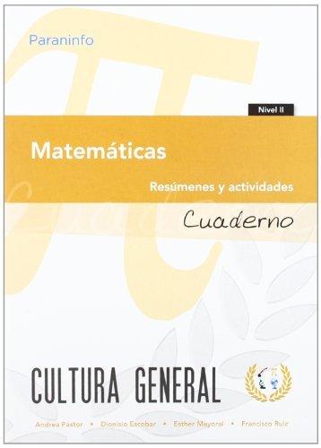 Matematicas nivel 2 resumenes y activid