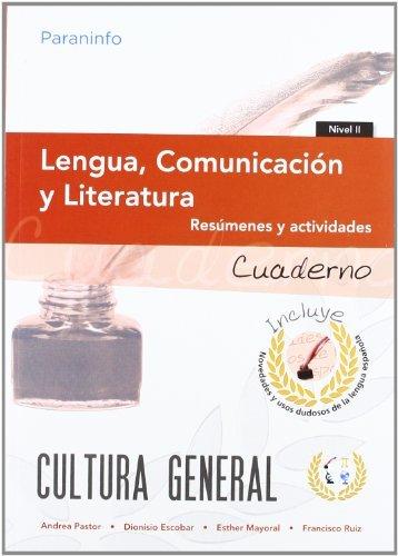 Lengua comunicacion y literatura nivel 2