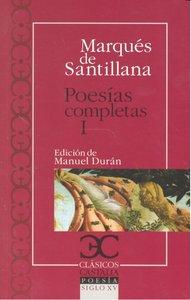 Poesias completas i santillana 4ªed