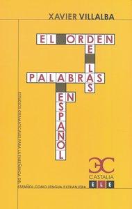 Orden de las palabras en español,el