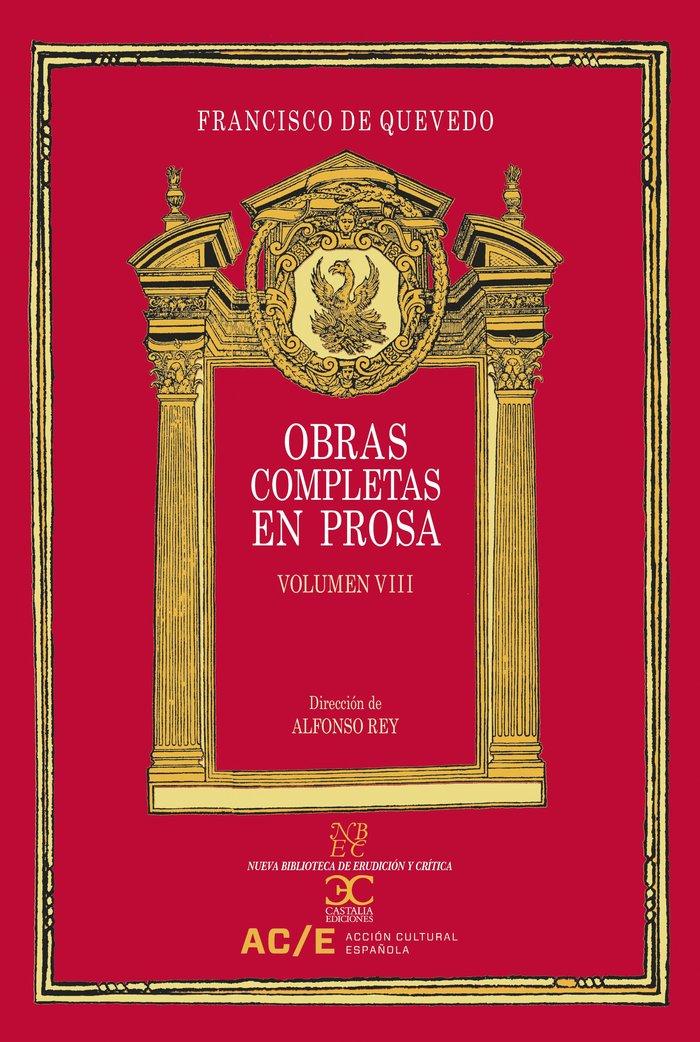 Obras completas en prosa vol viii