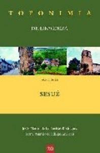 Toponimia de ribagorza municipio de sesue